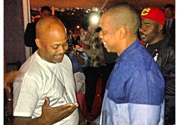 #6 Jay-Z and Damon Dash Reconcile.